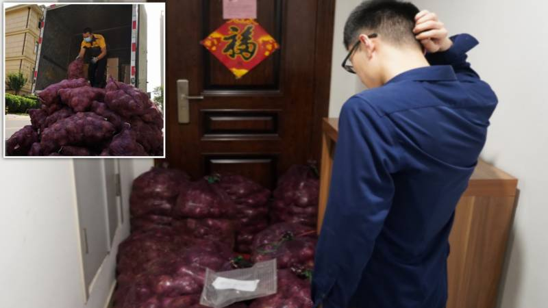 Cry hard with a vengeance: Chinese woman sends tonne of onions to ex