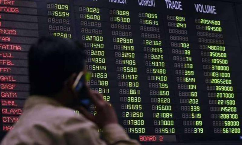 KSE-100 Index down by 225.74 points