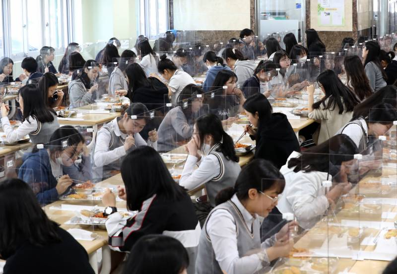 Schools reopen in South Korea as virus fears ease