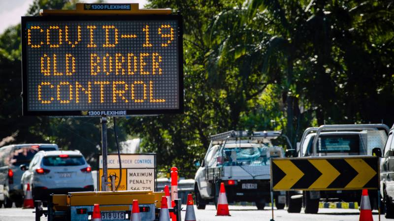 Australian states squabble over reopening domestic borders