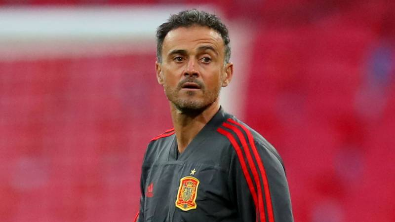 Games without fans 'sadder than dancing with your sister', says Luis Enrique