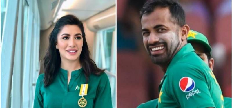 Mehwish Hayat congrats Wahab Riaz on birth of second daughter 'Hoorain'