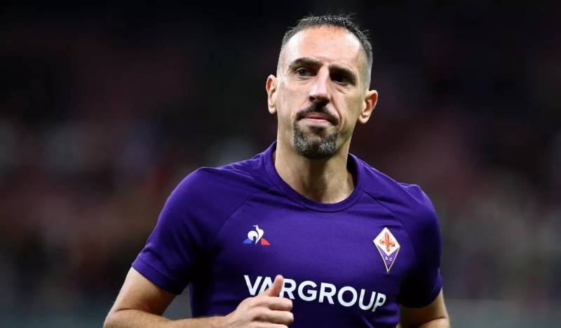 Ribery returns to Fiorentina training after six months out