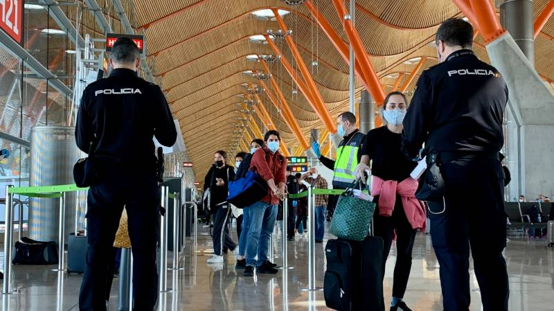 Virus is good news for one Spanish airport
