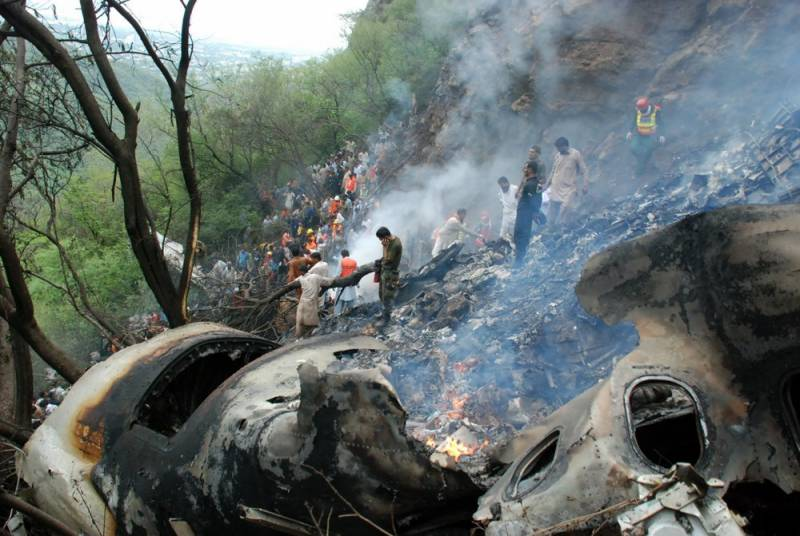 Timeline of major air crashes in Pakistan