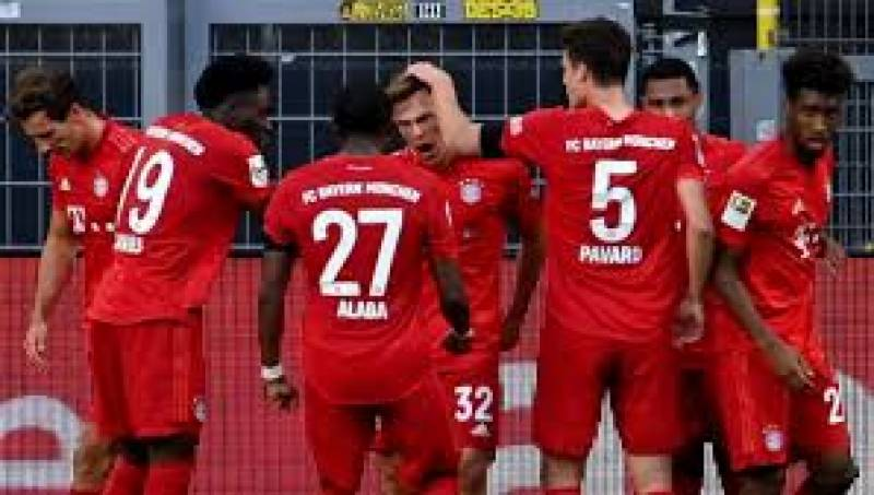Bayern Munich go seven points clear with 1-0 win at Dortmund