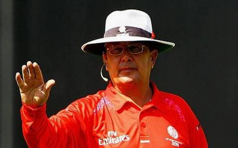 Officiating in matches involving India can be intimidating: Umpire