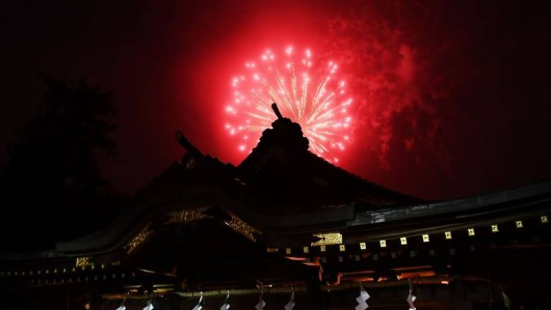 Fireworks explode across Japan to cheer up virus-weary public