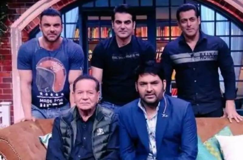 Salim Khan once stood outside Salman Khan's classroom as punishment