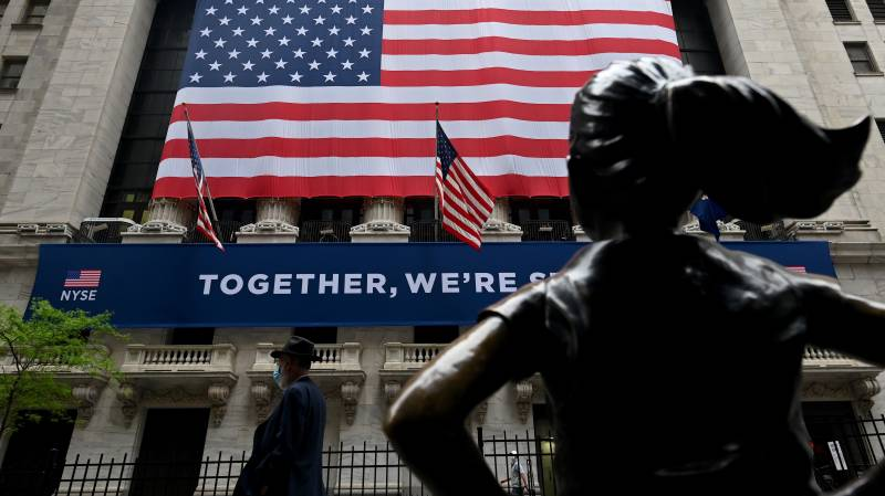 US stocks edge up as market digests protests, reopenings