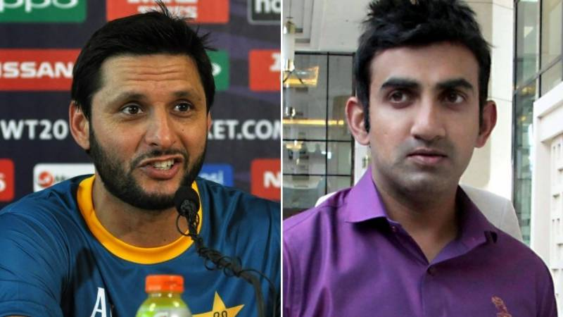 Waqar urges Afridi and Gambhir to end social media war