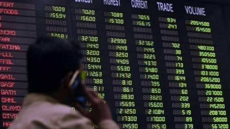 Pakistan Stock Exchange up by 386 points