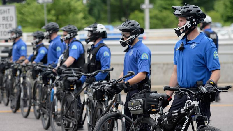 Four US police wounded by shooting in protest-hit St Louis