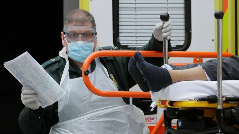UK says virus-related deaths rise to 48,000