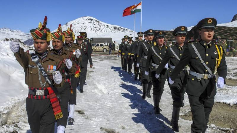 China and India on the edge