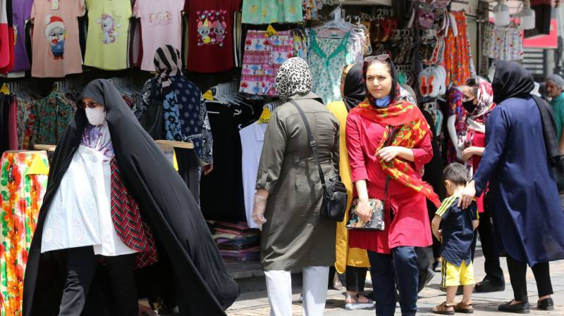 Virus on rise again in Iran with over 3,000 cases for third day