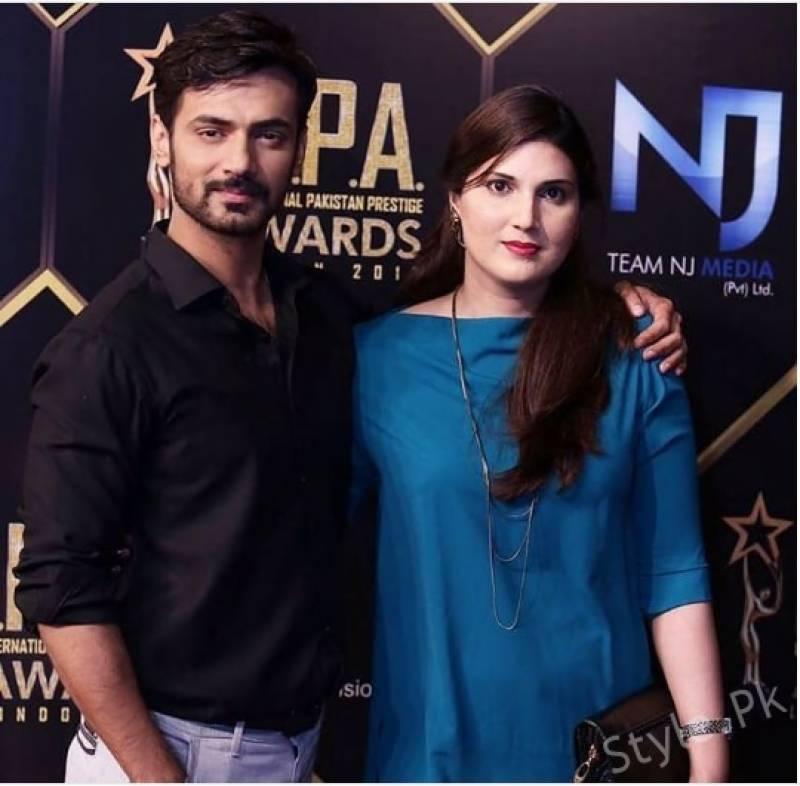 Zahid Ahmed says marriage saved him from 'so much beauty' in showbiz field