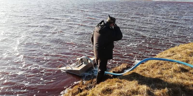 Russia says has stopped spread of Arctic fuel spill