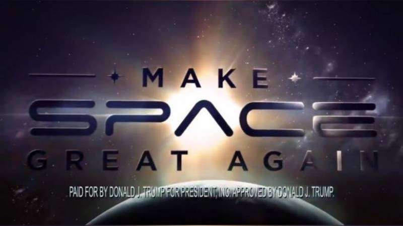 In space no one can hear you campaign: Trump team pulls ad