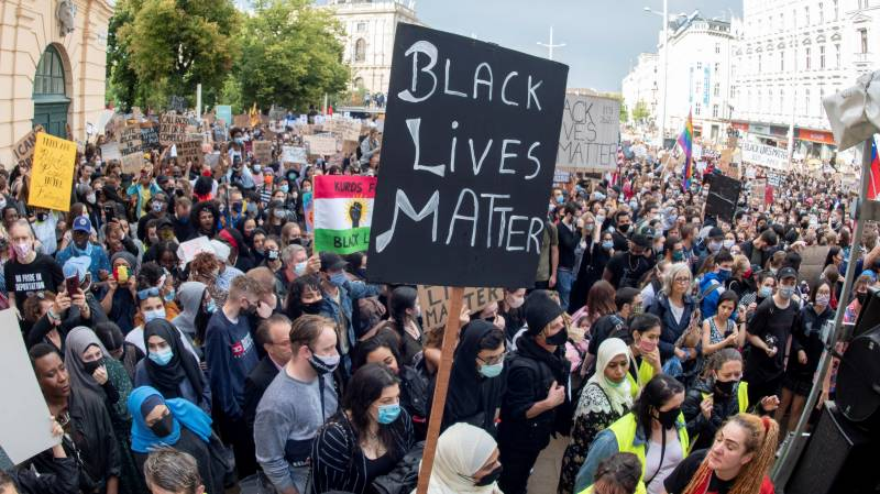 Tens of thousands turn out for Vienna Black Lives Matter protest