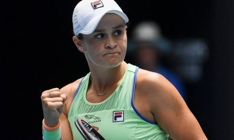 World number one Barty wary of US Open return