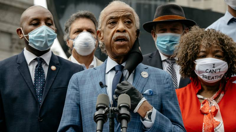 Time has come to hold police accountable, says US civil rights leader