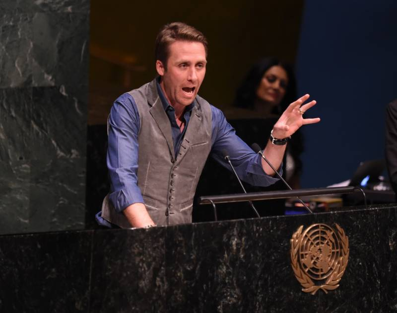 There is still time to save the oceans, says Jacques Cousteau's grandson