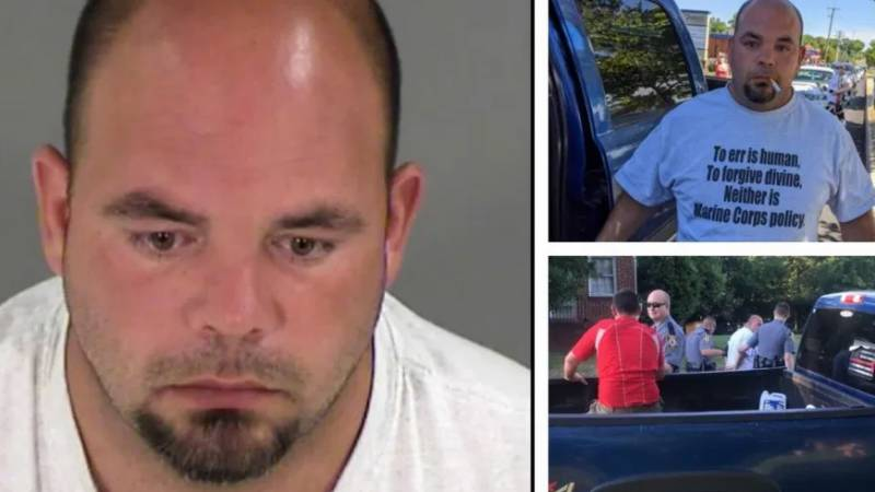 KKK leader charged for driving into US protesters