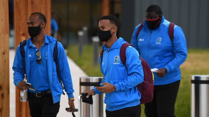 Windies' arrival in England a 'huge step forward' for cricket
