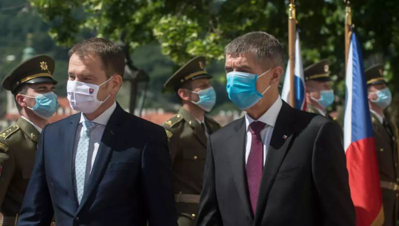 Central Europe leaders hold first face-to-face talks of virus crisis