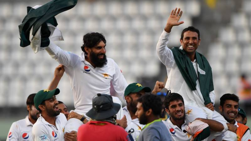 Rewinding glorious playing days of Misbah and Younus