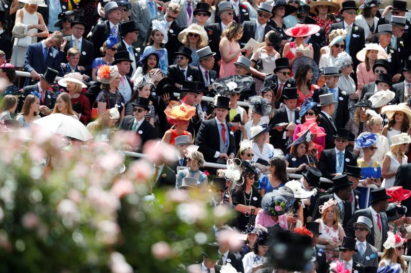 Keep your hat on... designers face tough times without Ascot payday