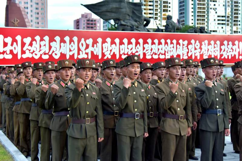North Korean army 'fully ready' for action against Seoul