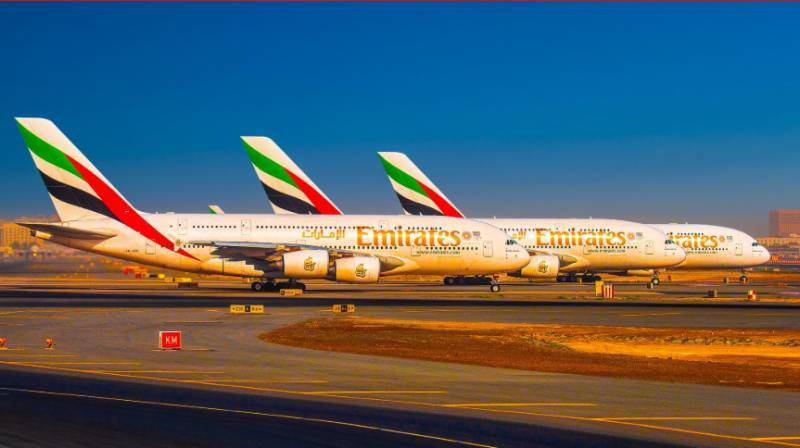 Emirates Airline issues schedule of 7 flights for Pakistan