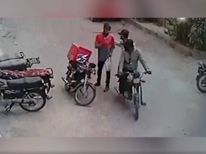 Robbers return valuables to 'teary' delivery boy
