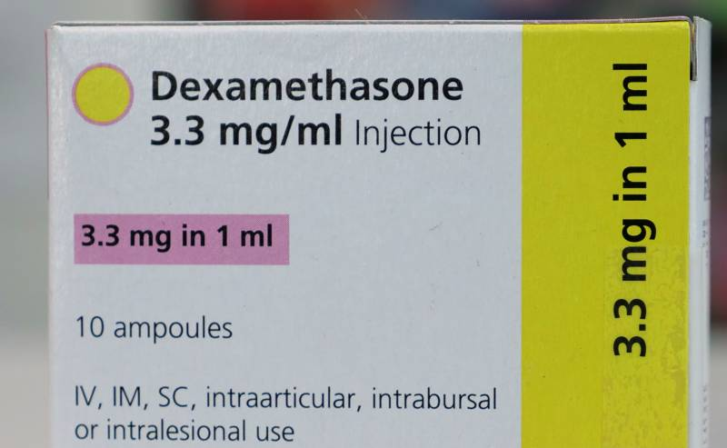 After British research, shortage of dexamethasone injection reported in Pakistan