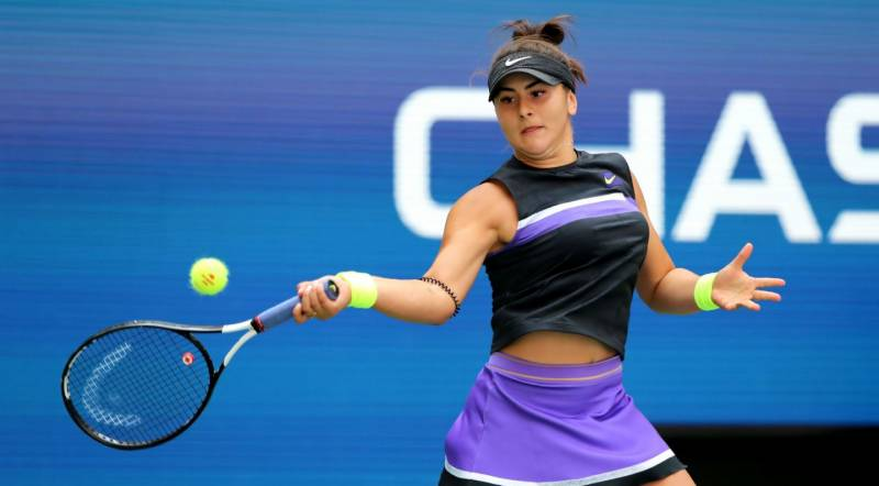 Andreescu joins Serena Williams in committing to US Open