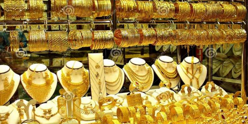 Gold prices continue to surge in Pakistan