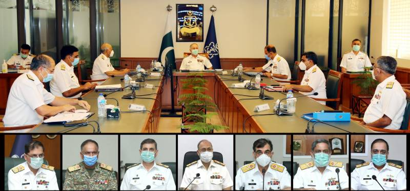 Naval Chief Heads Command & Staff Conference at Naval Headquarters