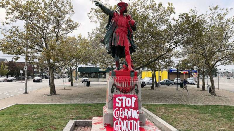 Christopher Columbus statue removed in San Francisco