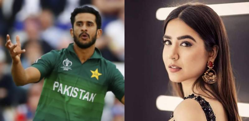 Mansha Pasha hits haters of cricketer Hasan Ali for SIX