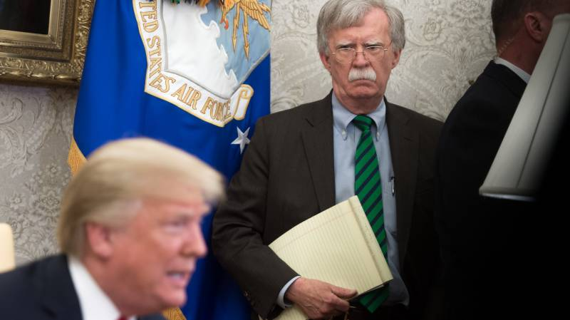 Court set to rule on Trump's last-ditch bid to stop Bolton's book