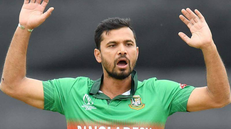 Former Bangladesh captain Mashrafe tests positive for virus