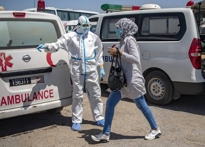 Morocco opens field hospital after spike in virus cases