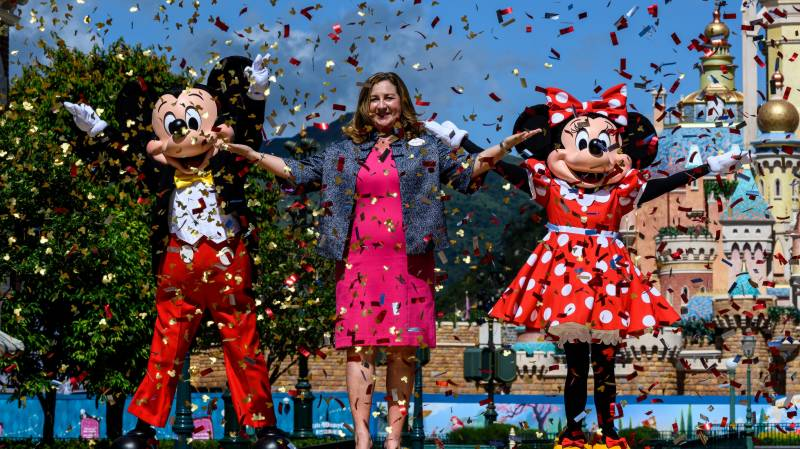 Disneyland Paris plans phased reopening from July 15