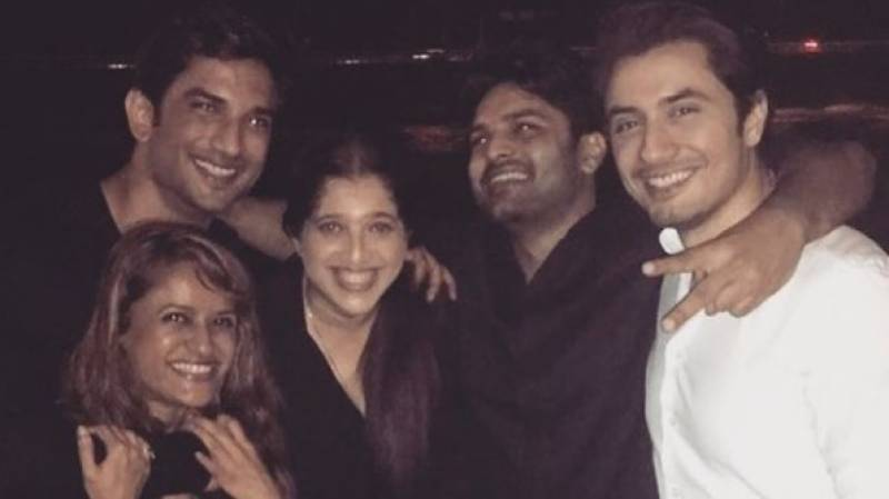 Ali Zafar shares throwback picture with Sushant Singh Rajput
