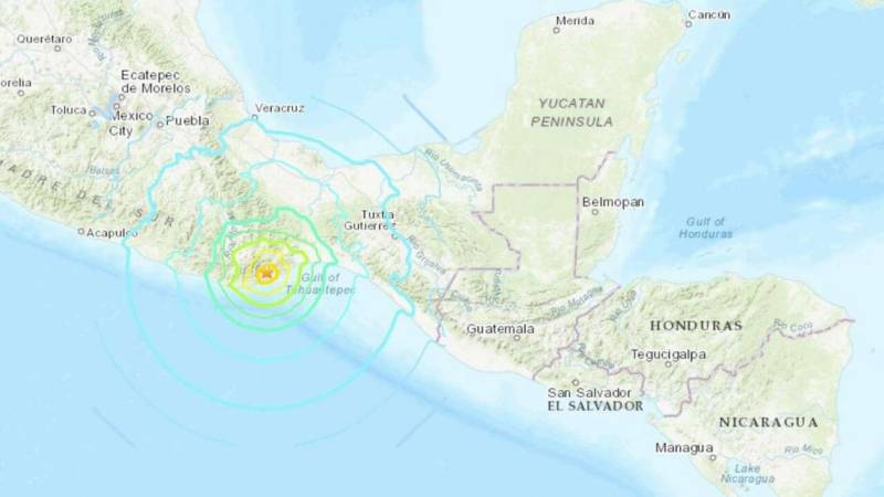 Tsunami alert for Central, South America after strong quake