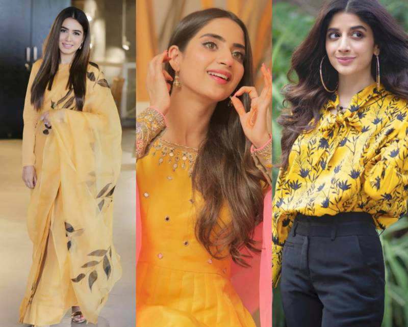 Celebs declare yellow is the colour of the season