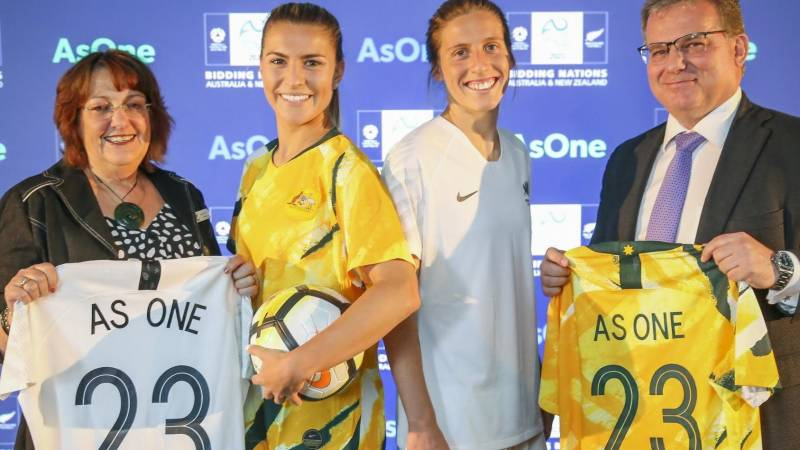 FIFA tipped to award 2023 women's World Cup to joint Australia, New Zealand bid