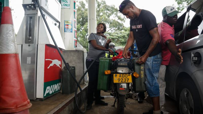 Zimbabwe increases fuel price by 150 percent